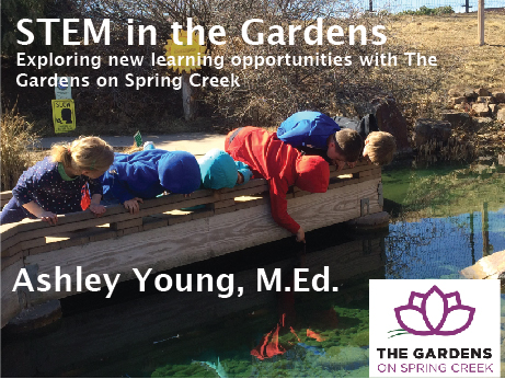 Children Exploring the Gardens on Spring Creek