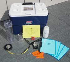 Contents of a STEM Kit on display